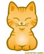 夏バテの猫